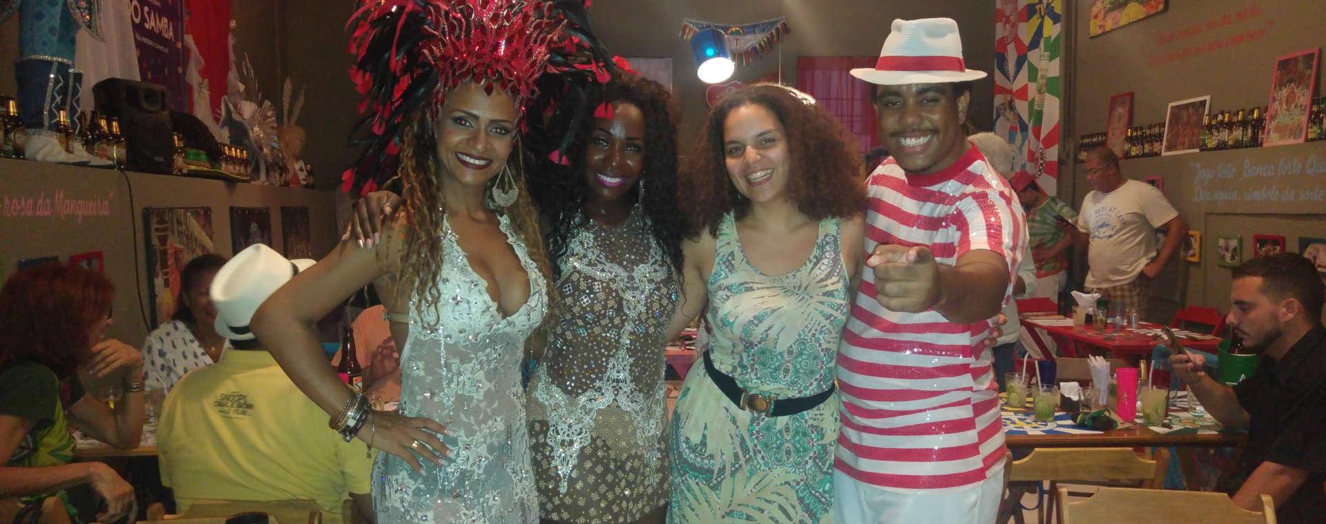 Live the magic of Rio's Carnival!