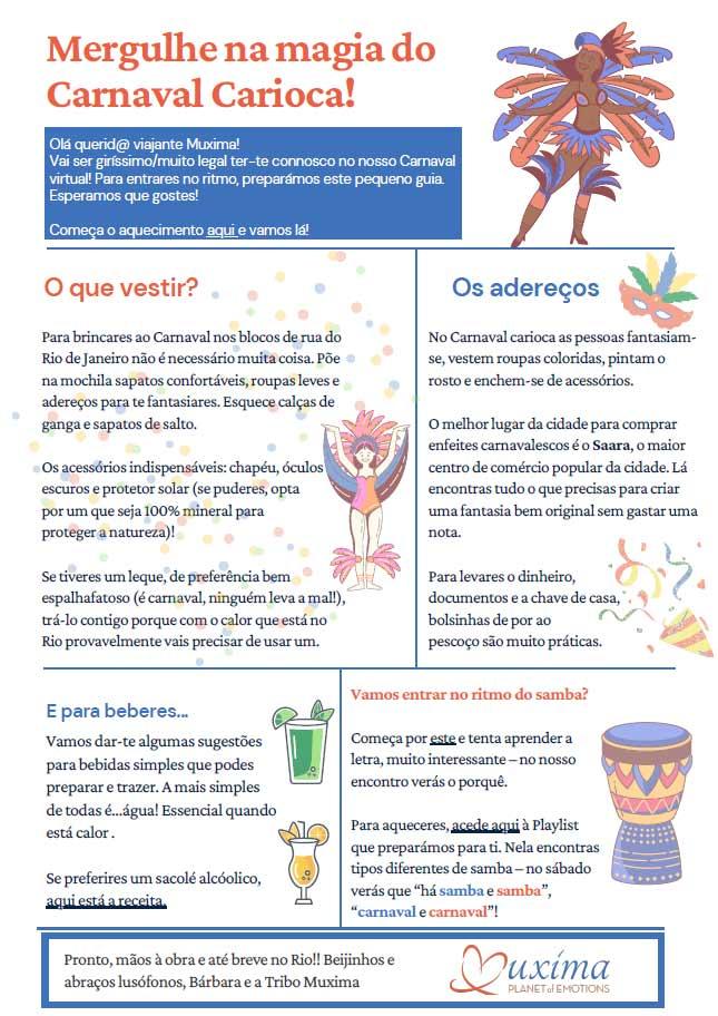 Viva a magia do Carnaval carioca!