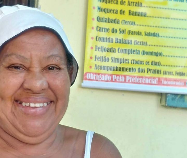 Gastronomia e arte de rua da favela